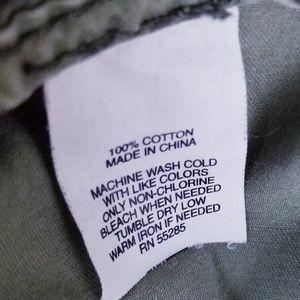 Express Shorts - Express Women's Faded Olive Jungle Short